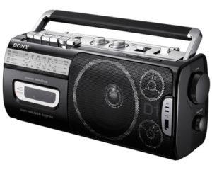 Cassette Radio Player Sony CFM D1MK3U 3