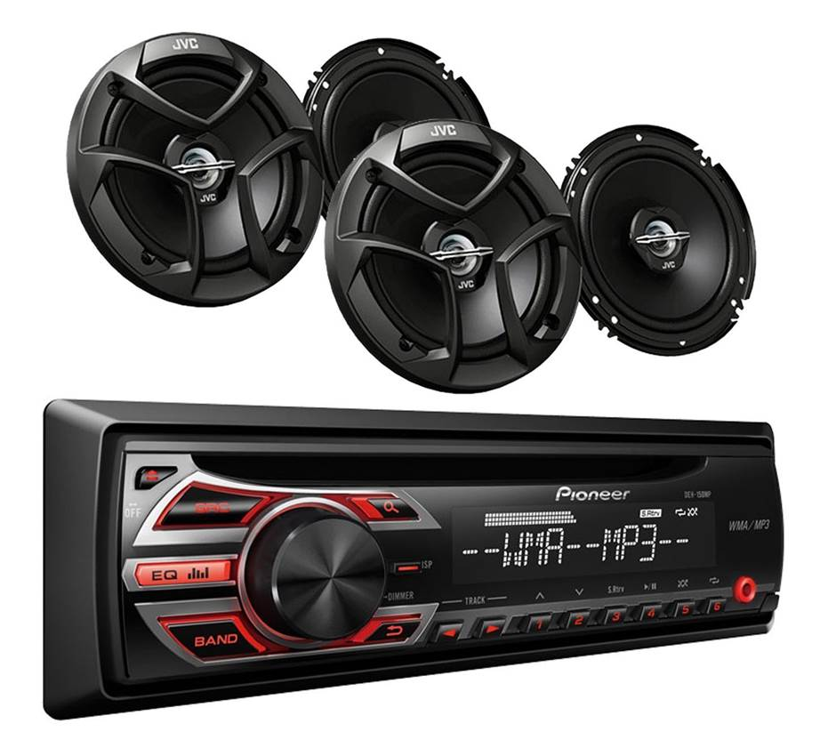 Pioneer DEH 150MP Car Stereo System